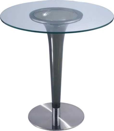 Glass Breakfast Bar Table Fashion Style Luxury Glass Bar Table Pub Dining Furniture Tables Manufacturer Supplier
