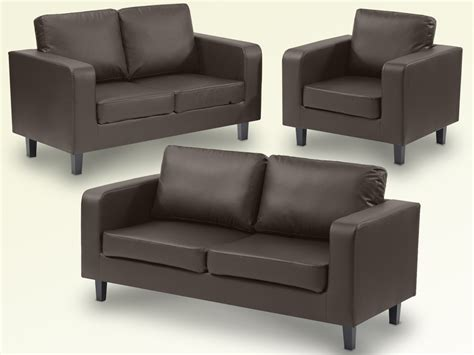 brown leather 3 and 2 seater sofa ideal furniture box brown faux leather 3 2 1 seater sofa set