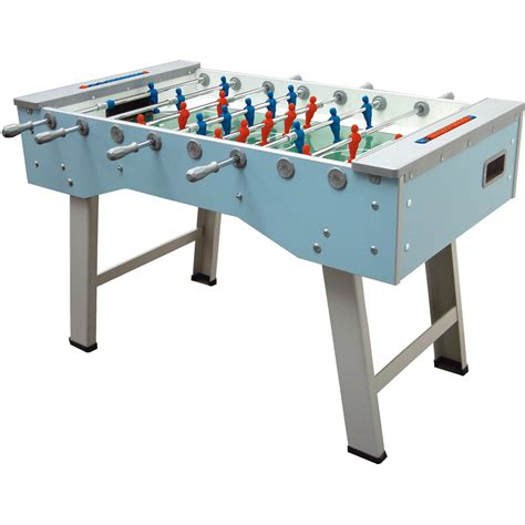 how to a table football fas smart folding football table 4ft 7 liberty