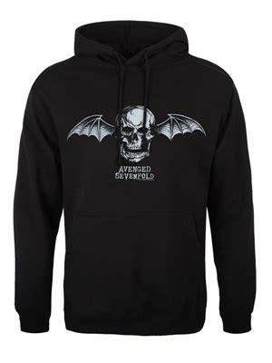 Hoodie Zipper Sweater Jaket Slipknot Terpopuler avenged sevenfold bat logo s black hoodie buy