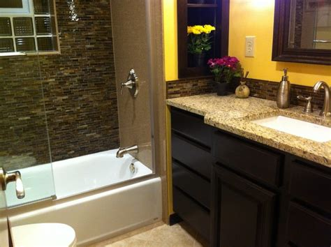 Master Bathroom Ideas On A Budget by Revitalized Master Bath On A Budget Contemporary
