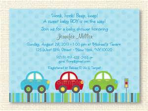 car baby shower invitation editable text by littleprintsparties