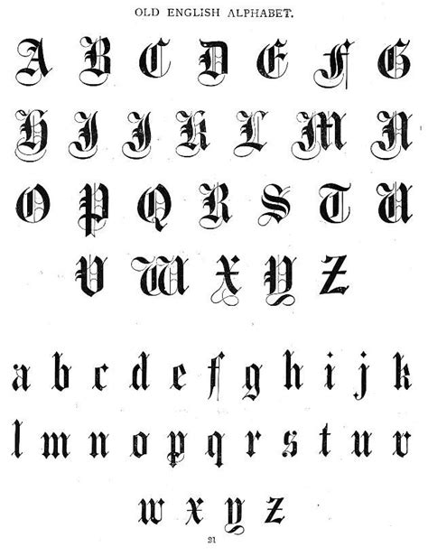 The Gallery For Gt Old English Font Letter C | how to write old english letters of the alphabet cursive