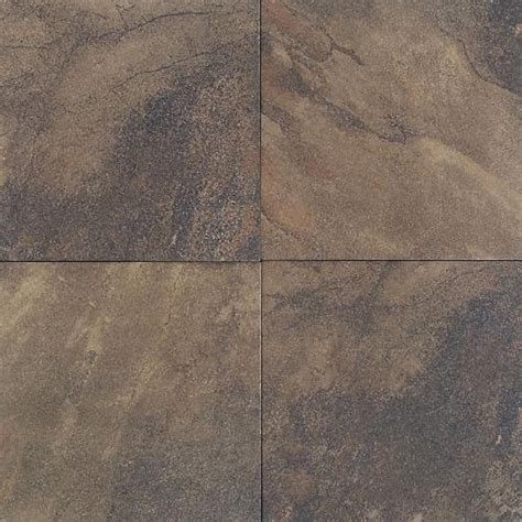 daltile aspen lodge midnight blaze 6 1 4 in x 6 1 4 in porcelain floor and wall tile 7 53 sq