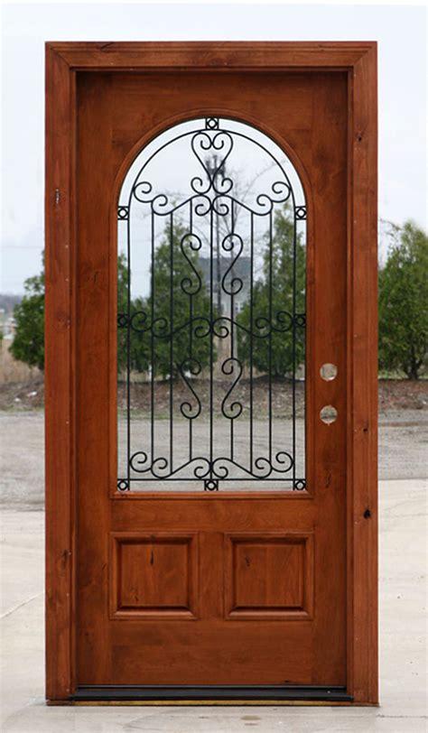Rustic Exterior Doors Rustic Doors Single Exterior Door Knotty Alder Doors