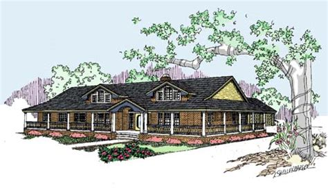 4 bedroom ranch style homes ranch style house plans 2415 square foot home 1 story