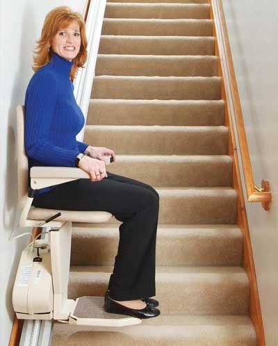 chair lifts for stairs facilitate the lives of your grandparents with a stairway lift chair the american committee