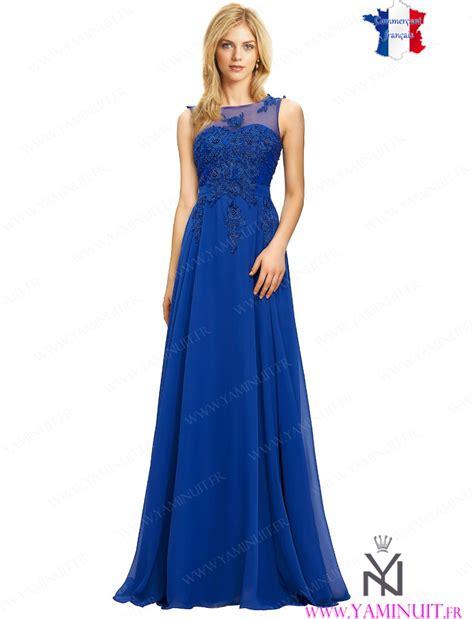 Robe Bustier Bleu Roi Mariage - robes bleu royal