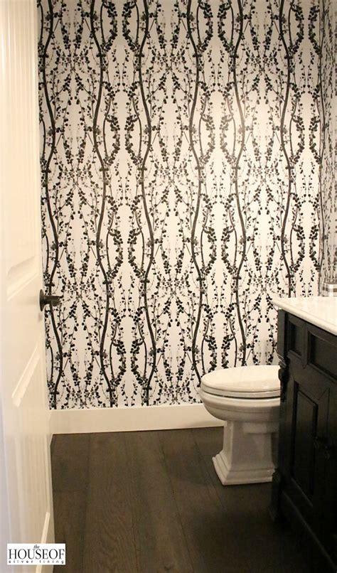 tempaper  adhesive wallpaper bathroom reveal