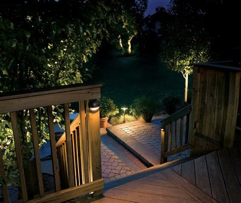 Low Voltage Outdoor Deck Lighting Outdoor Lighting Personal Touch Landscaping Colorado Springs Personal Touch Landscape