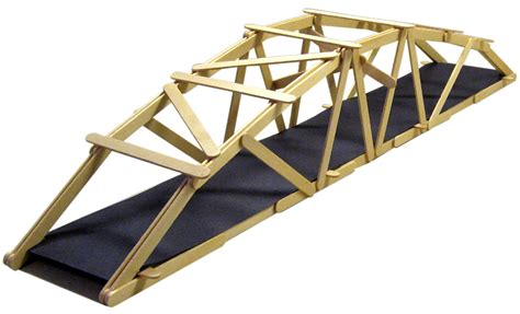 stick design 25 arched warren popsicle stick bridge garrett s bridges