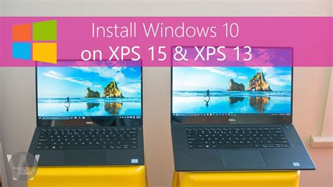 install windows 10 to ssd install windows 10 on xps 15 xps 13 after ssd upgrade or
