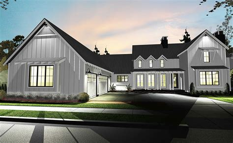 Contemporary Farmhouse Floor Plans Architectural Designs