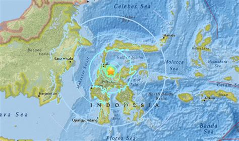 earthquake at indonesia indonesia earthquake 6 6 magnitude quake strikes sulawesi