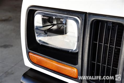 Jeep Xj Lights Truck Lite Led Headlight Installation Write Up For A Jeep