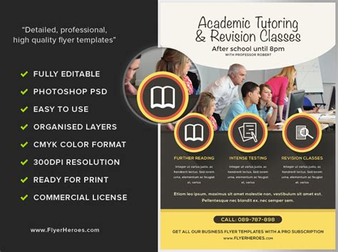 research study flyer template academic studies flyer template flyerheroes