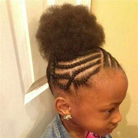 girl hairstyles puff 140 best natural kids afros puffs images on pinterest