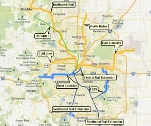 denver rtd lightrail expansion map tod colorado
