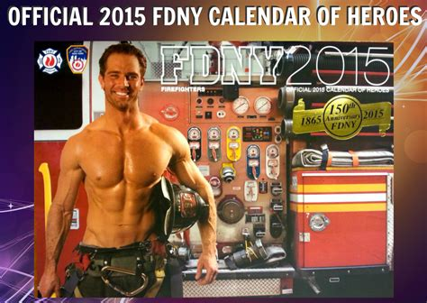 Firefighter Calendar 2015 Meet The 2015 Fdny Calendar Guys Nyc On The Cheap