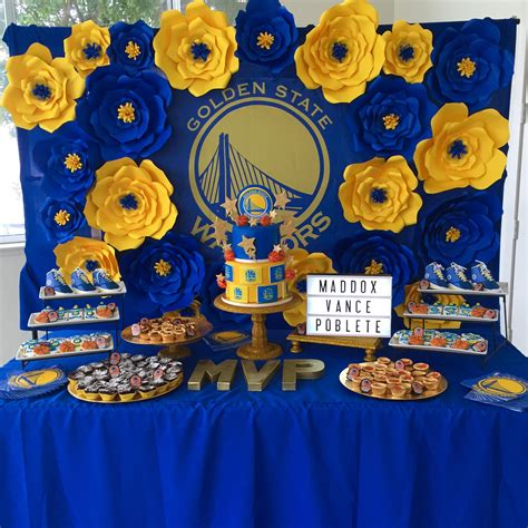 Nba Baby Shower Theme by Golden State Warriors Baby Shower Ideas Just B Cause