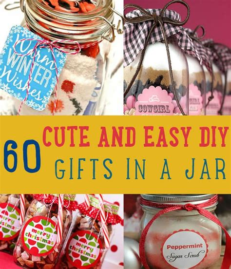 60 cute and easy diy gifts in a jar christmas gift ideas diy ready
