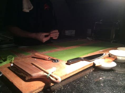 ferraris grapevine tx chef stefano preparing fresh pasta picture of ferraris