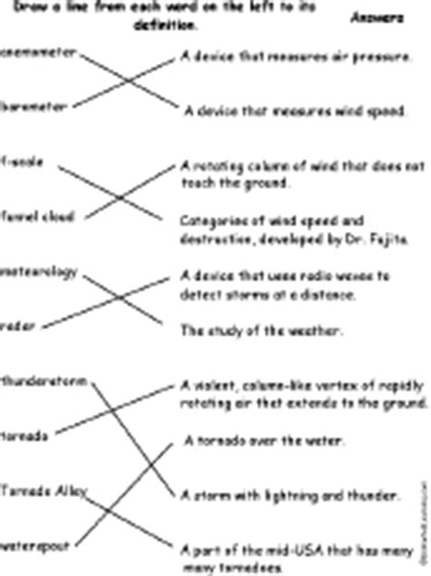 printable tornado quiz tornado activities enchantedlearning com