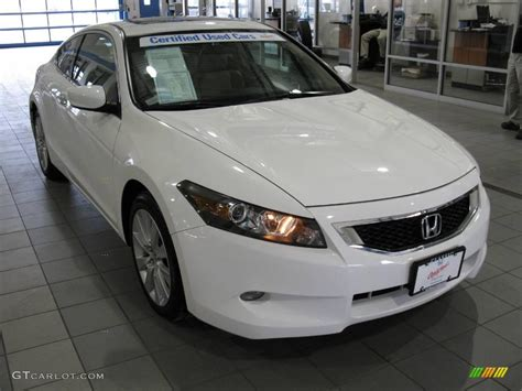 2009 taffeta white honda accord ex l v6 coupe 25464553 gtcarlot car color galleries