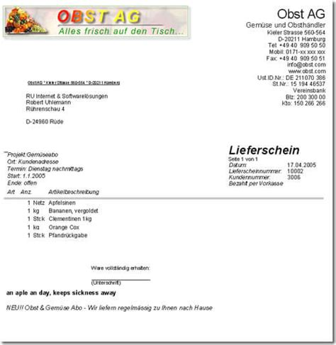 Rechnung Nr Englisch Rechnungssoftware Branchensoftware Kaufmann