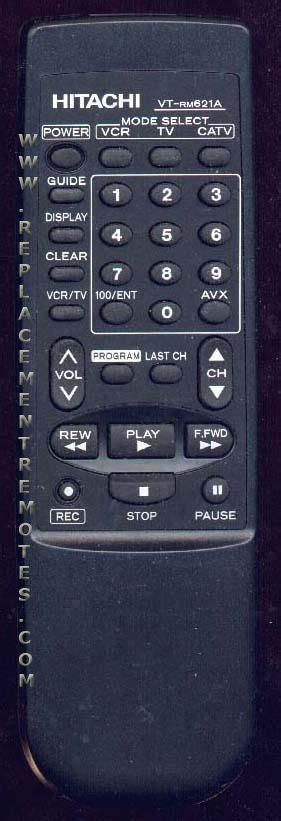 2sc856 Hitachi Nos Original buy hitachi vt rm621a vtrm621a hl10624 vcr remote
