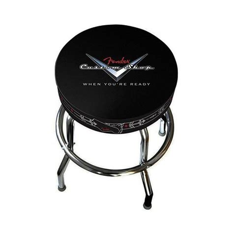 shop bar stool fender 24 quot custom shop bar stool pinstripe