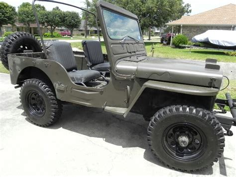 1953 Willys Jeep Our 1953 M38 Willys Jeep Wheels