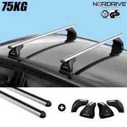 barres de toit peugeot 208 5 portes nordrive aluminium