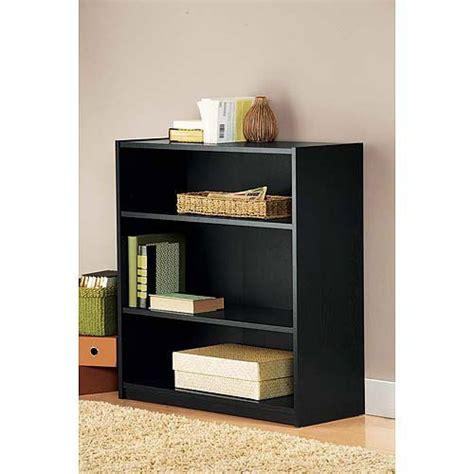 Black Bookshelf Small Black Bookshelf by Mainstays 3 Shelf Bookcase Black