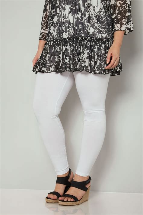 div placement white cotton essential plus size 16 to 36