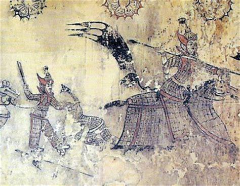 silla dynasty korea ancient tides actual silla dynasty cavalry armor is found