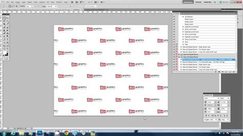 Downloading And Using The Step And Repeat Photoshop Action Youtube Step And Repeat Template Photoshop