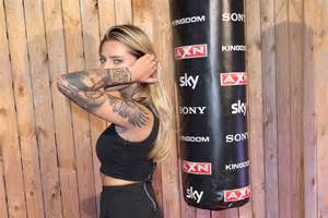 Berlin germany september 23 sophia thomalla attends the premiere