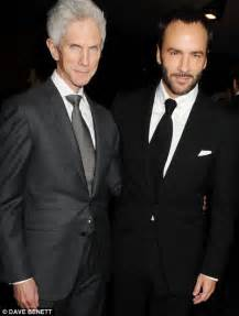 Tom Ford And Richard Buckley Tom Ford Is A Fashion Designer 51 And Partner