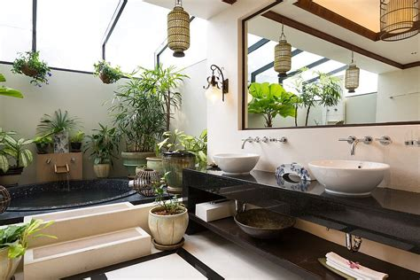 tropical bathroom ideas seasonal style hot bathroom trends to try out this summer
