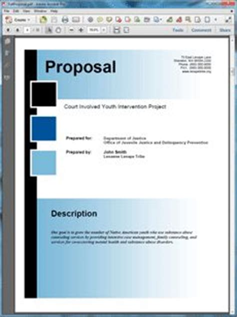 Sle Government Grant Proposals On Pinterest Proposals Business And Facebook Federal Government Rfp Template