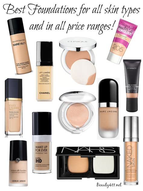 best kind of foundation best foundations for all skin types price ranges