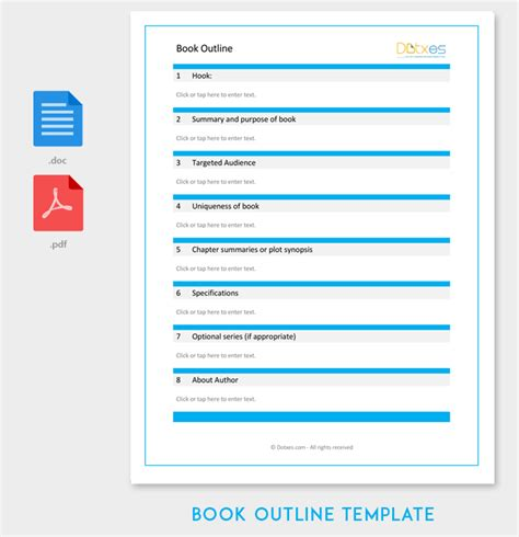 ms word ebook template book outline template 17 sles exles and formats