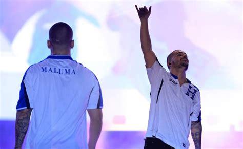 el concierto de san maluma se pone la camisa de la selecci 243 n de honduras en concierto ipauta com