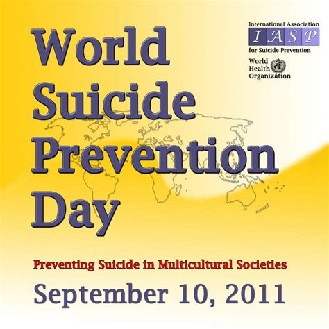 World Offers Iasp Offers World Prevention Day Banners In