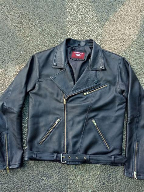 jual jaket kulit biker leather jacket garut kualitas kulit