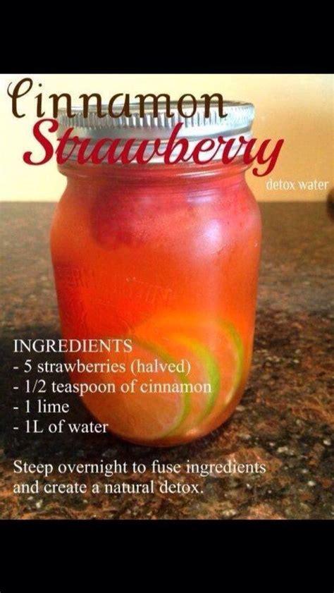 New Me Detox by New Detox Strawberry Cinnamon Detox Water Amazing Detox