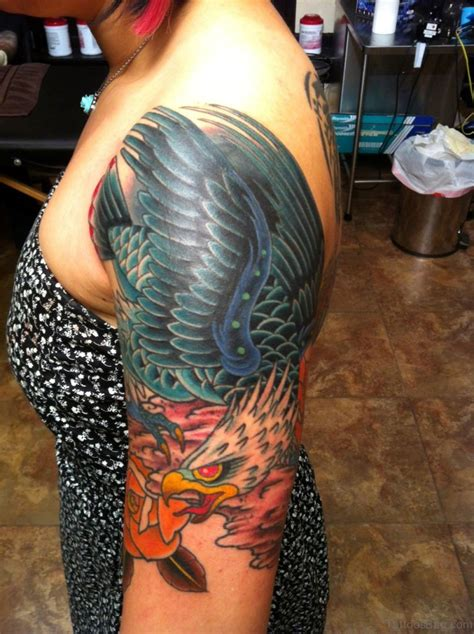 pictures tattoos 31 shapely eagle tattoos for shoulder