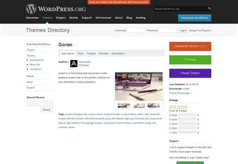 themes wordpress goran 50 fantastic freebies for web designers october 2014