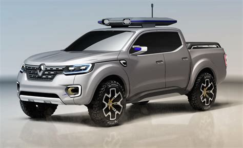 renault concept renault alaskan concept previews global production pickup